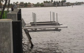 Martin County floating dock