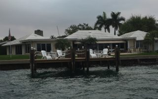 floating dock Palm Beach County
