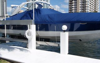 Broward County marine pressure treated docks