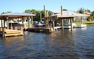 Palm Beach County dock