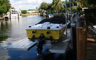 floating dock Miami-Dade County