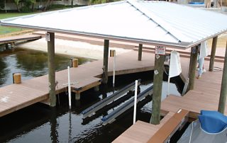 Broward County floating dock