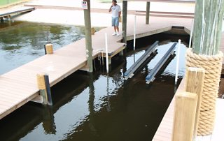 custom floating docks Broward County