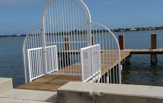 floating dock Broward County